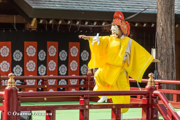 平成29年 北海道神宮例祭 三条神楽 鳥形