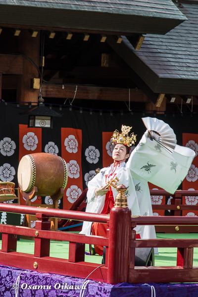 平成29年 北海道神宮例祭 三条神楽 先稚児