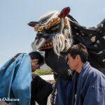 平成29年 山形県長井市「第28回ながい黒獅子まつり」当日