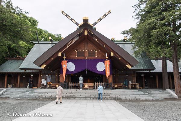 平成29年 北海道神宮例祭 拝殿