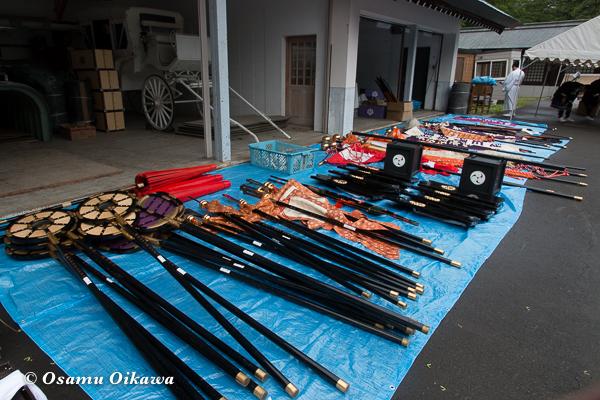 平成29年 北海道神宮例祭 渡御祭 道具