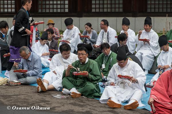 平成29年 北海道神宮例祭 渡御祭 準備