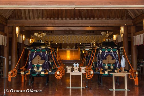 平成29年 北海道神宮例祭 渡御祭 鳳輦