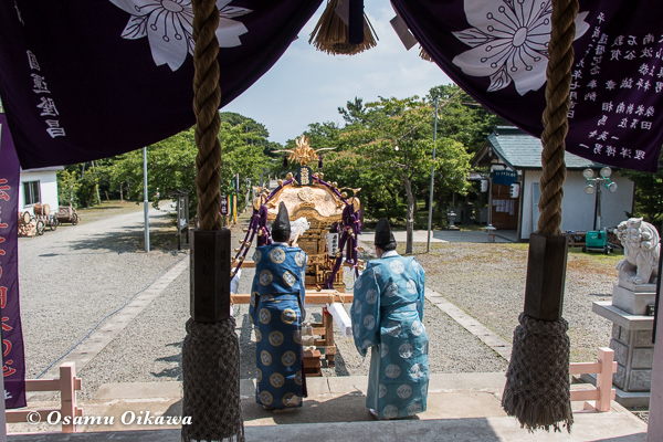 H29 寿都町 寿都神社 渡御祭 お祓い