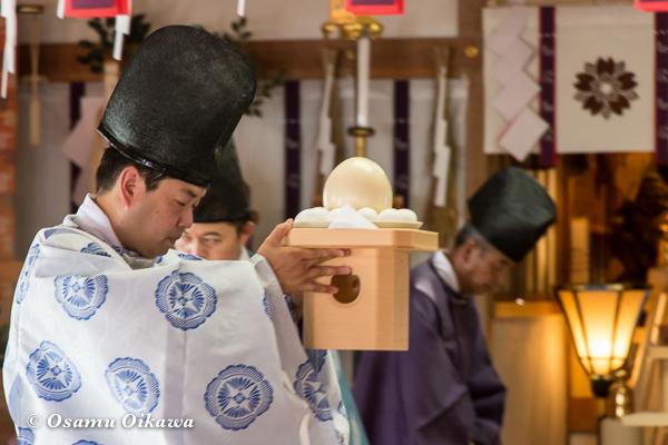 H29 寿都町 寿都神社 渡御祭 献饌