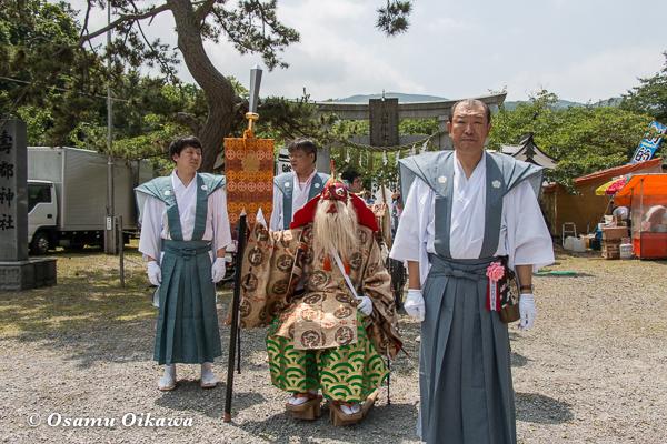 H29 寿都町 寿都神社 渡御祭 猿田彦