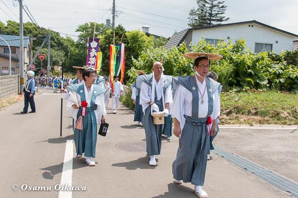 H29 寿都町 寿都神社 渡御祭 行列先頭