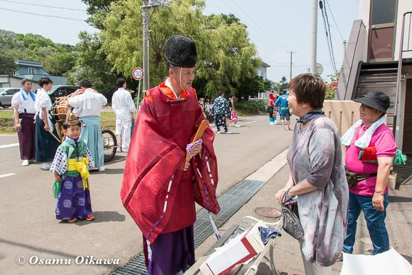 H29 寿都町 寿都神社 渡御祭 宮司挨拶