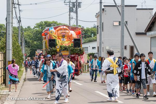 H29 寿都町 寿都神社 渡御祭 山車