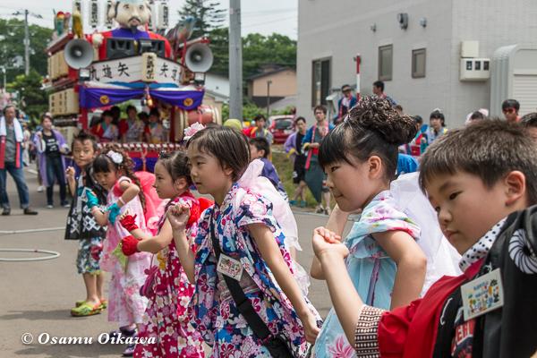 H29 寿都町 寿都神社 渡御祭 山車 踊り