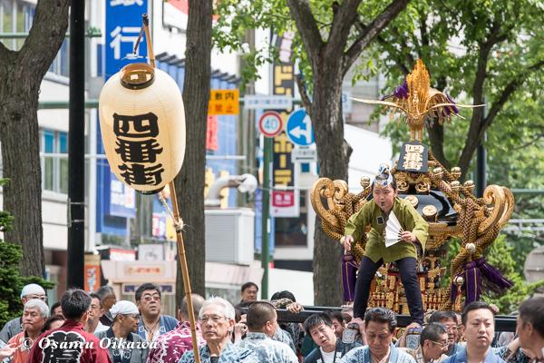 平成29年 北海道神宮例祭 渡御祭 神輿