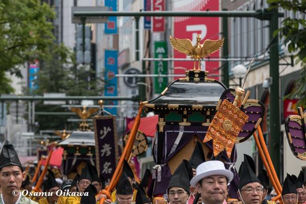 平成29年 北海道神宮例祭 渡御祭 大通り