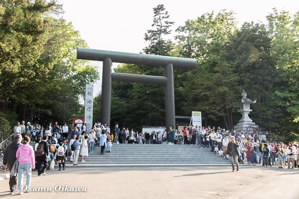平成29年 北海道神宮例祭 渡御祭 北海道神宮前
