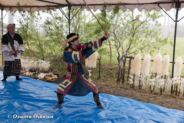 H29 新ひだか町 イチャルパ 先祖供養祭 アイヌ文化交流会 アイヌ古式舞踊 クリムセ