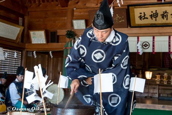 平成29年 松前神社 本祭 鎮釜湯立式