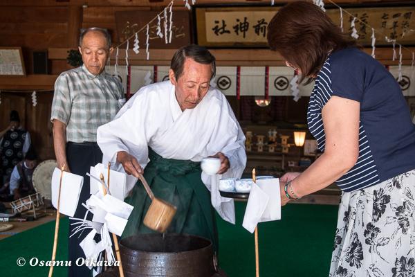 平成29年 松前神社 本祭 笹湯