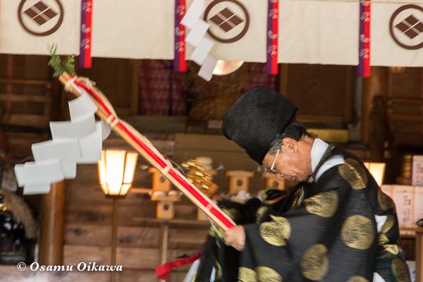 平成29年 松前神社 本祭 松前神楽 榊舞