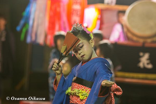 平成29年 せたな町 事比羅神社宵宮祭 踊り