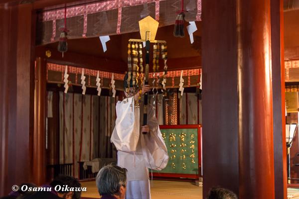 平成29年 青森県弘前市 岩木山神社 お山参詣奥宮神賑祭 御幣