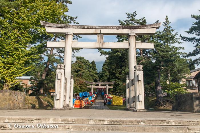 平成29年 青森県弘前市 お山参詣 岩木山神社