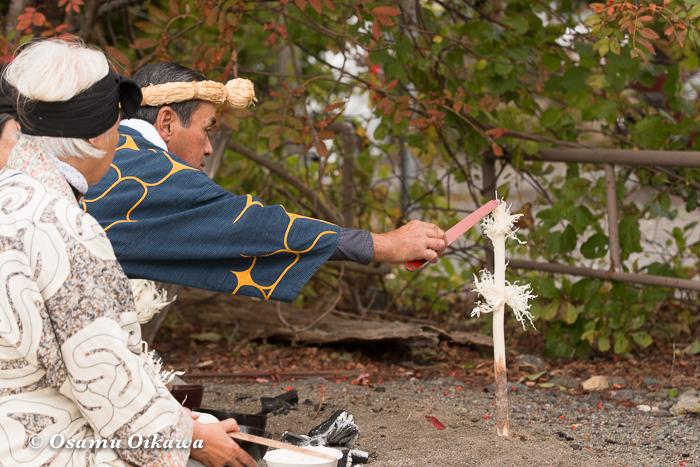 平成29年 新ひだか町 真歌公園 シャクシャイン法要祭 先祖供養祭 斎主 神への祈り