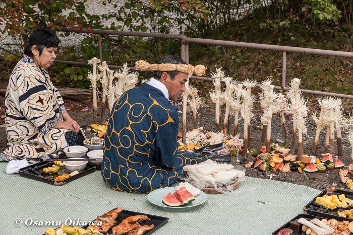 平成29年 新ひだか町 真歌公園 シャクシャイン法要祭 先祖供養祭 シンヌラッパ