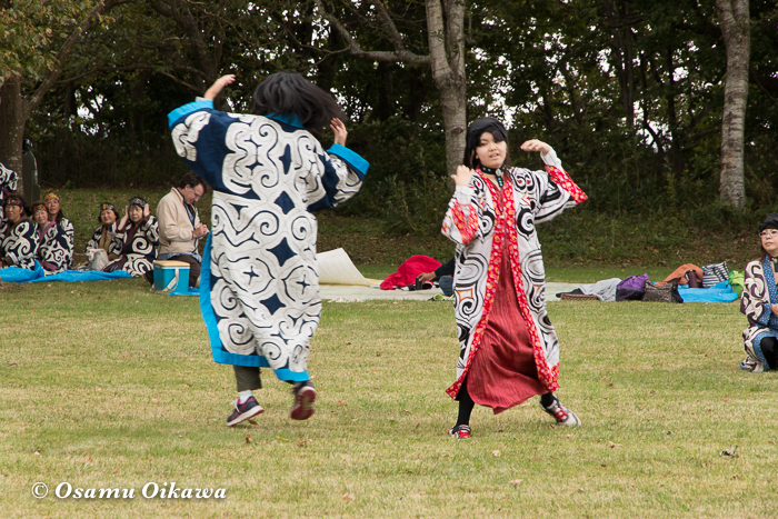 平成29年 新ひだか町 真歌公園 シャクシャイン法要祭 文化交流 アイヌ古式舞踊