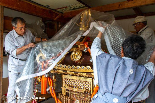 平成30年 美国町 美国神社 例大祭 神輿
