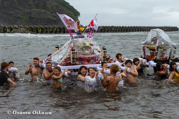平成30年 美国町 美国神社 例大祭 海中神輿