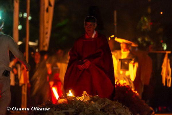平成30年 美国町 美国神社 例大祭 2日目 火渡り 祈り