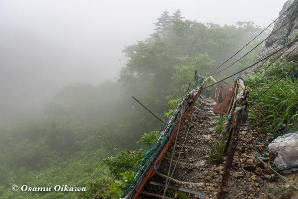 平成30年 せたな町大成地区 太田神社 宵宮祭 山掛け 最後の難関
