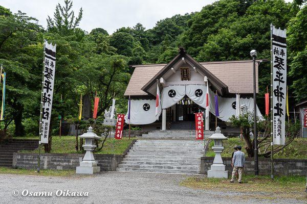 平成30年 古平町 琴平神社 例大祭 宵宮祭 境内