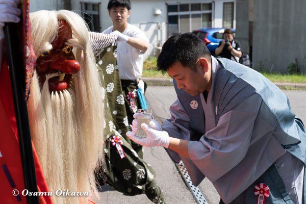 平成30年 古平町 琴平神社 例大祭 渡御祭 猿田彦 所作
