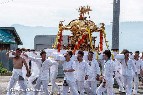 平成30年 古平町 琴平神社 例大祭 渡御祭 神輿