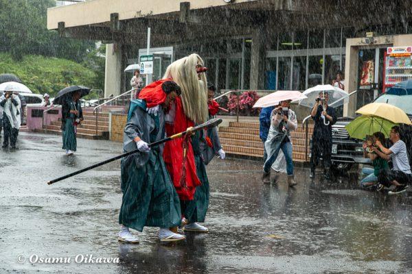 平成30年 古平町 琴平神社例大祭 二日目 渡御祭 雨 猿田彦