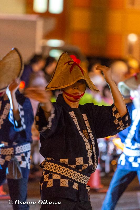 平成30年 沼田町 夜高あんどん祭り 初日 越中おわら踊り02