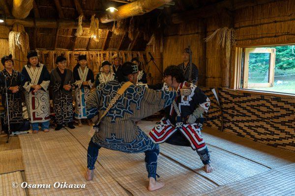 平成30年 平取町 チプサンケ アイヌ民族 アイヌ古式舞踊03