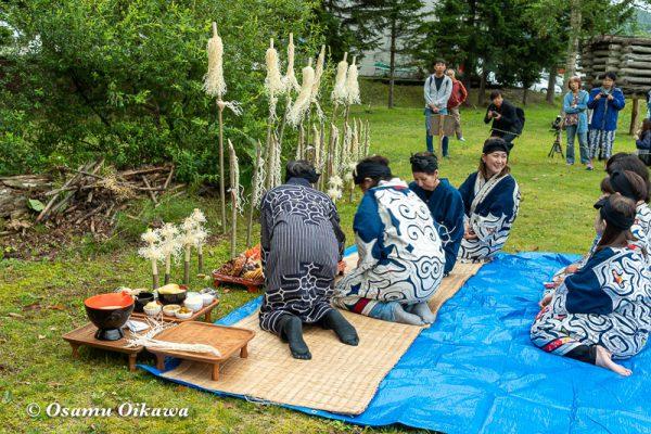 平成30年 平取町 チプサンケ アイヌ民族 先祖供養 カムイノミ