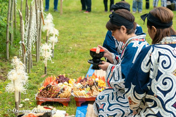 平成30年 平取町 チプサンケ アイヌ民族 先祖供養 カムイノミ02