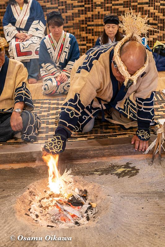 平成30年 平取町 チプサンケ アイヌ民族 先祖供養 カムイノミ03