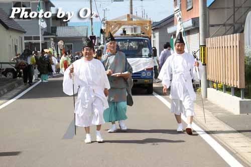 平成22年 今金町 今金八幡神社渡御祭 行列