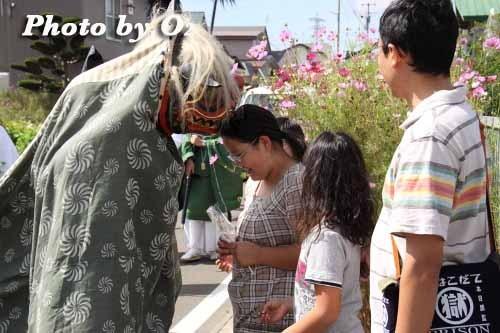 平成22年 今金町 今金八幡神社渡御祭 獅子舞01