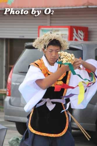 平成22年 今金町 今金八幡神社渡御祭 松前神楽 荒馬舞