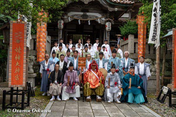 平成30年 江差町 姥神大神宮渡御祭 下町巡行 神社行列 写真撮影