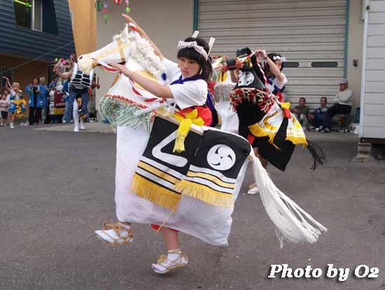 函館市 安浦地区 安浦駒踊り 安浦稲荷神社