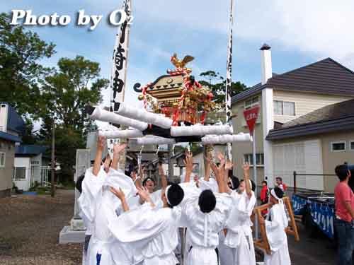 H19 福島大神宮 渡御祭 神輿
