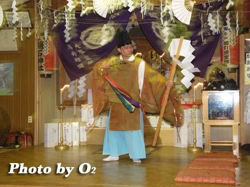 平成19年 瑞石神社 宵宮祭 榊舞