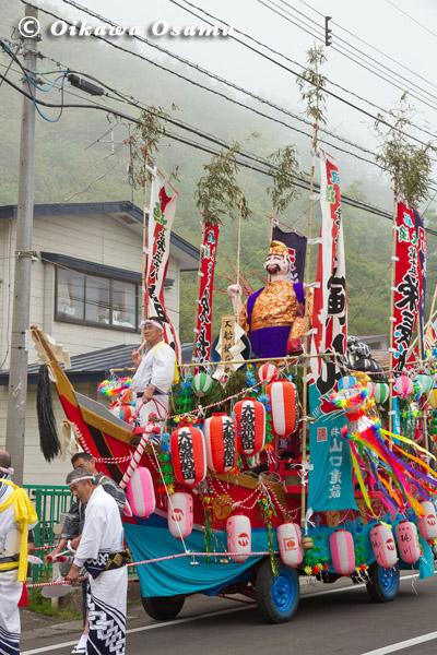 大船稲荷神社 渡御祭 山車