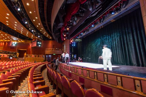 豪華客船 2015 ステージ準備