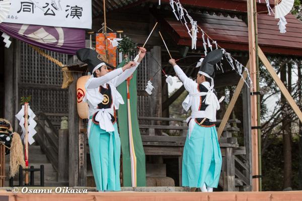 松前神楽合同公演 2016 神遊舞